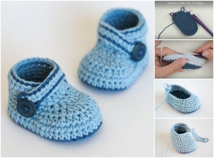 Mejores 47 imágenes de Crochet for babies en Pinterest | Crochet de ...