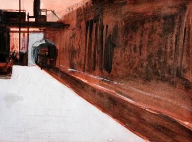 "Saatchi Art Artist Marta Zamarska; Drawing, ""Postcard from the Journey XXI"" #art"