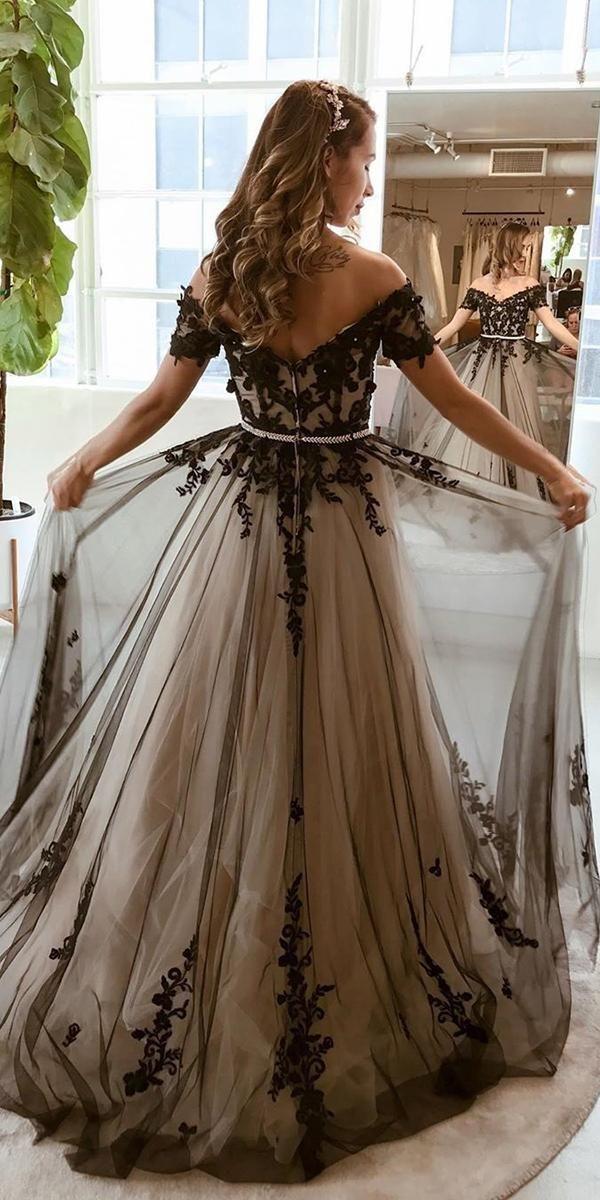 Dark Romance 27 Gothic Wedding Dresses Wedding Dresses Guide Black Wedding Gowns Black Wedding Dress Gothic Gothic Wedding Dress