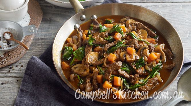 Rich beef and vegetable stew
