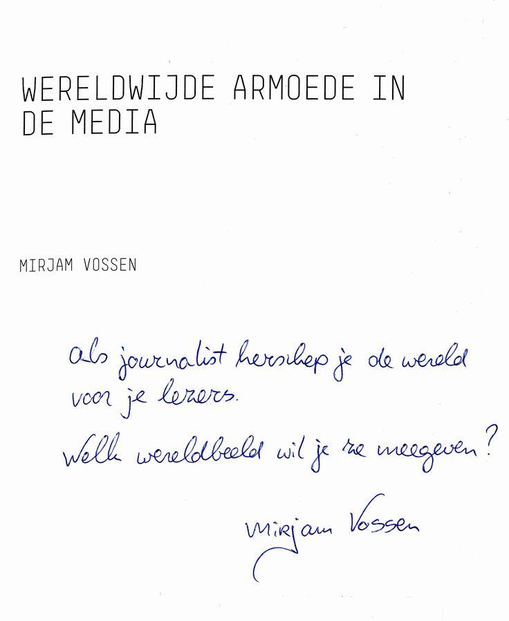 #FHJ-alumnus Mirjam Vossen gaf 12-9-2016 een gastcollege aan de tweedejaars studenten van de Mediaredactie.
