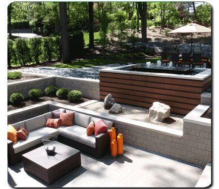 loving the jacuzzi layout with seating area, already have the sofa set.....just need a garden