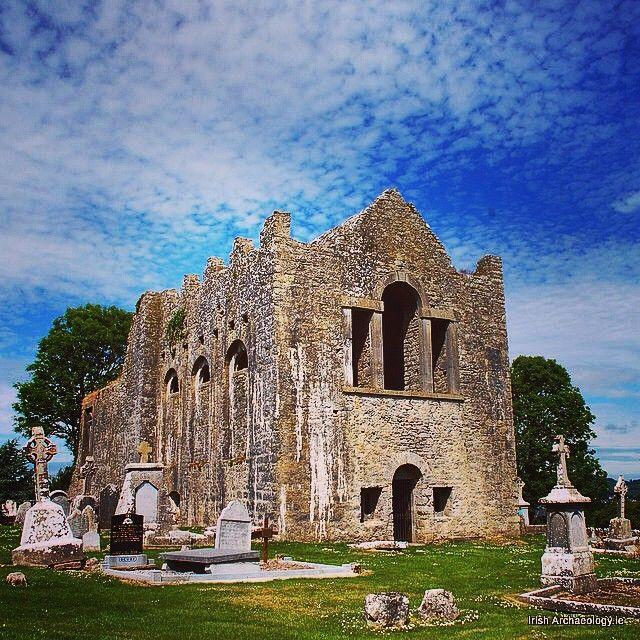 The ruins of Oughaval church, Stradbally, Co. Laois, Ireland