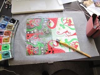 The Daily Telecraft: Art Class Lesson Plan- Maori Pattern Crayon Batik
