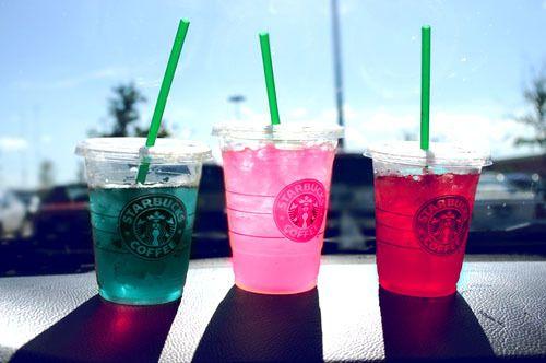 Starbucks in the summer. PRICELESS