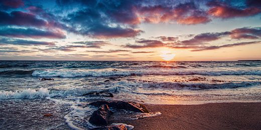 Sunrise Clouds Landscapes Twitter Cover & Twitter Background | TwitrCovers