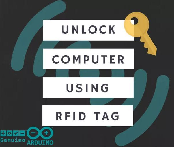 Unlock your computer with a RFID tag https://www.hackster.io/masteruan/arduino-rfid-unlock-mac-linux-and-win-e9d7a3