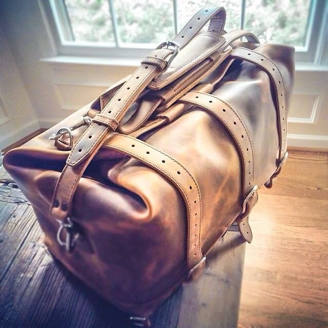 That feeling you get when you come home to a box of leather on your porch. | Saddleback Leather Co. | Waterbag | 100 Year Warranty | $710 - $820