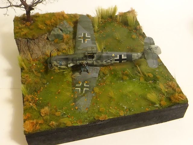 DetailScaleView: Revell 1/32 Bf 109G-6 Diorama by Sergey Kovalev