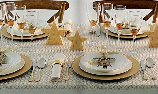 C mo decorar tu mesa de navidad para la cena de - Decorar mesa navidad manualidades ...