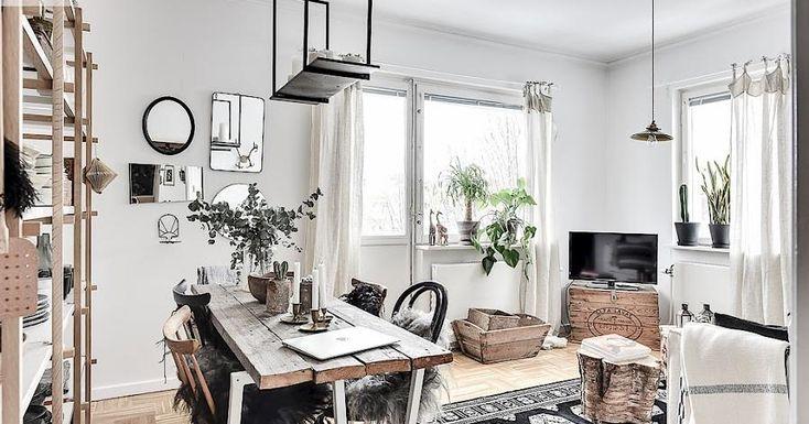 Bohemio, étnico y con un toque rústico, ¡esta casa mezcla estilos!