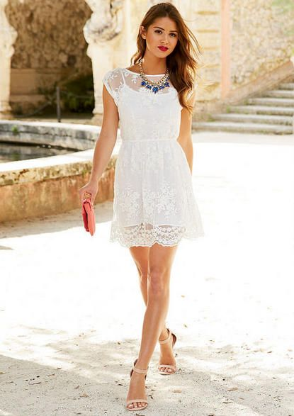 Alexandra Lace Dress. Perfect shoes too
