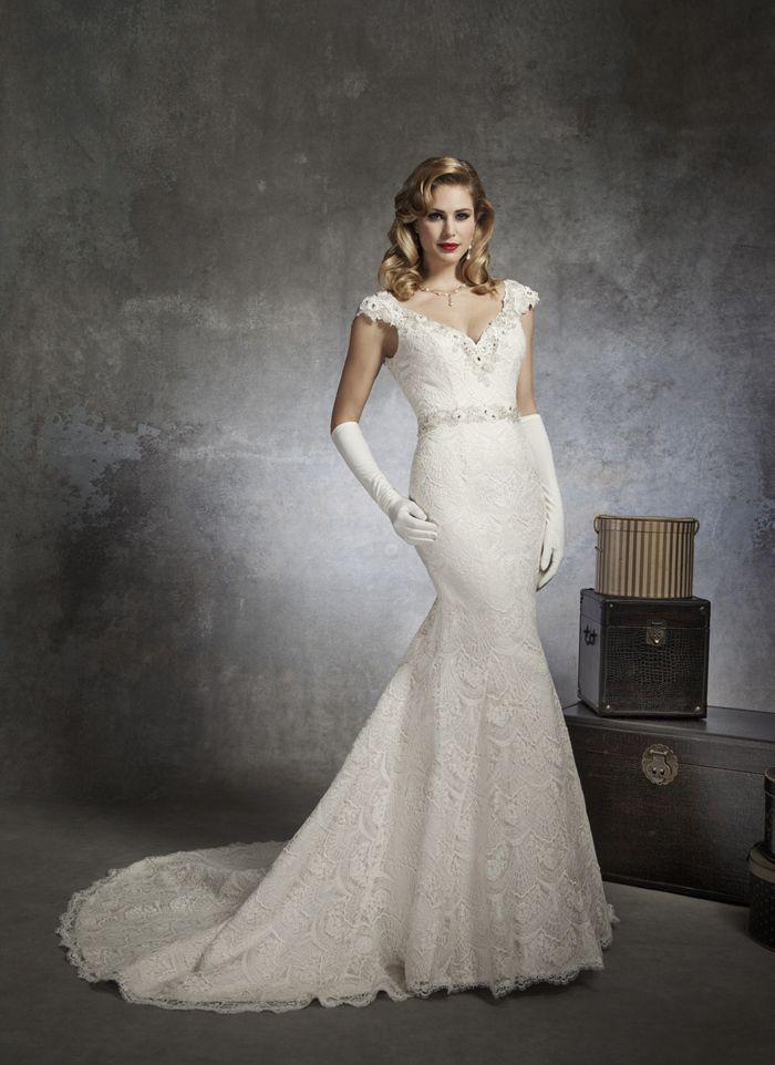 Justin Alexander Wedding Dresses Style 8654 A V Neck