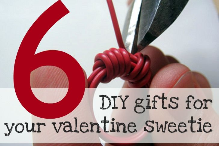 6 Super Easy DIY Gifts For Your Valentine's Day Sweetie