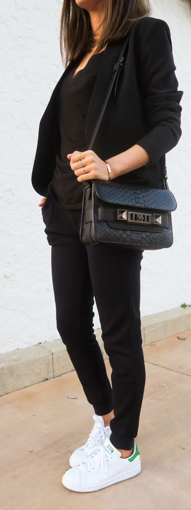 Best 25 stan smith style ideas on pinterest for Adidas originals palermo