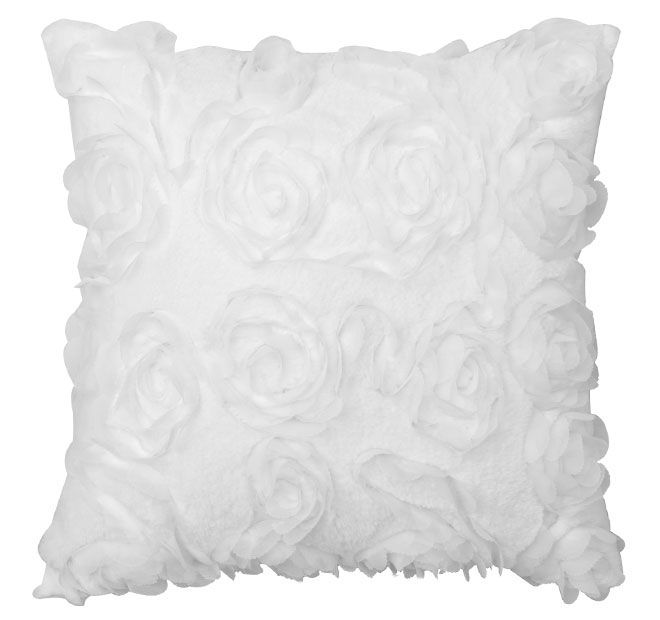 rosa-41x41cm-filled-cushion-white