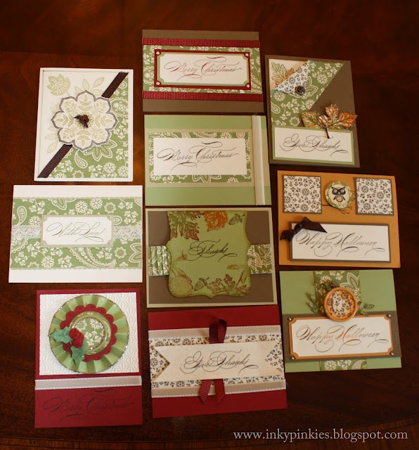 OSW -- includes cutting diagramCards Sets, Osw Cards, Cards Ideas, Hands Pens, One Sheet Wonder, Cards Inspiration, Wonder Cards, Paper Crafts, Cards On