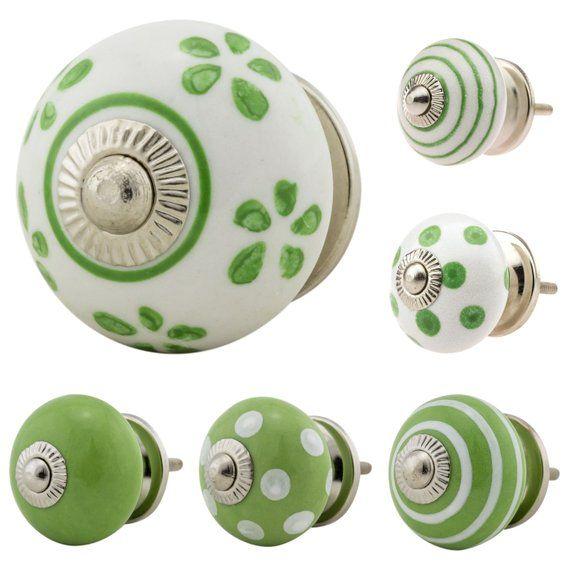6er Set 6xkst03445 Kleine Mobelknopfe Kunststoff Fussball Mobelgriffe Mobelknopf Mobelknauf Keramik Shabby Kommode Vintage Stud Earrings Cufflinks Accessories