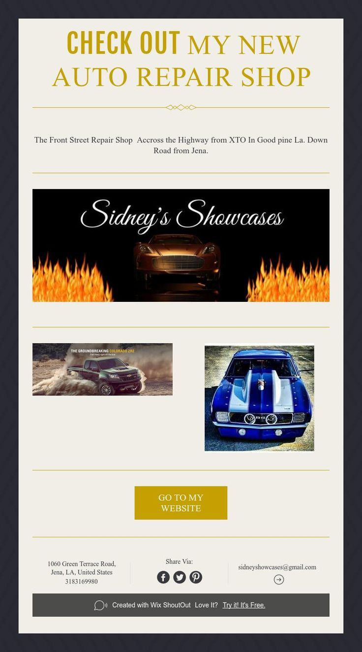 Check out MyNew Auto Repair Shop