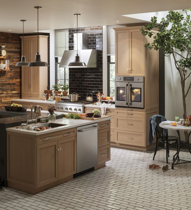 Swoon! My Dream Kitchen - GE CafeGE Café™ Series. Just think of all the meals you could cook in a kitchen like this. ouramericankitchen. AD