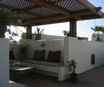 muebles de obra o concreto para tu terraza resistentes y durables terraza