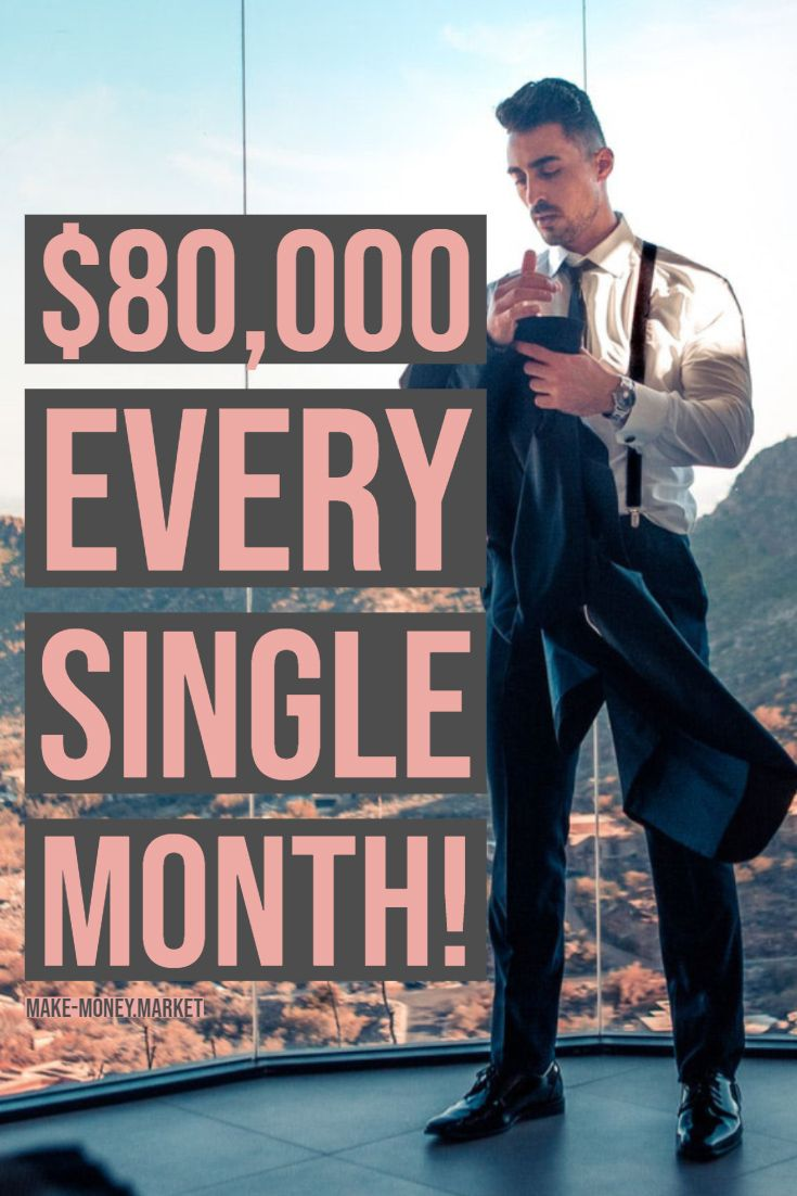 $80,000 every single month! – Money