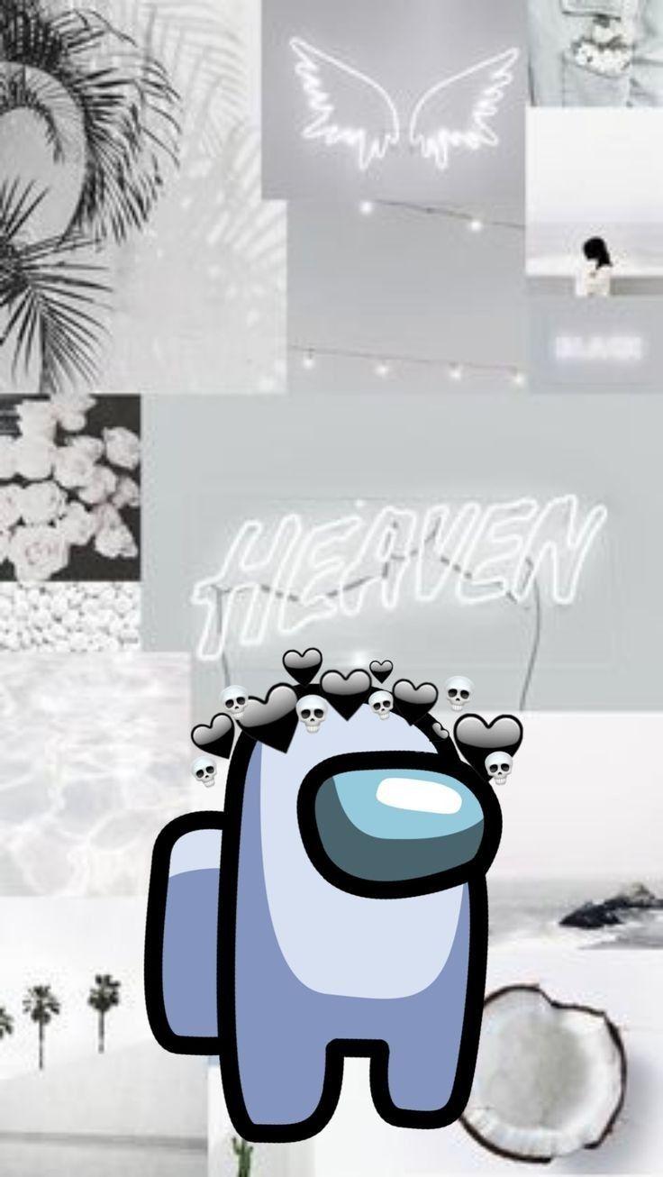 Among Us Blanco Wallpaper Iphone Cute Pretty Wallpaper Iphone Aesthetic Iphone Wallpaper