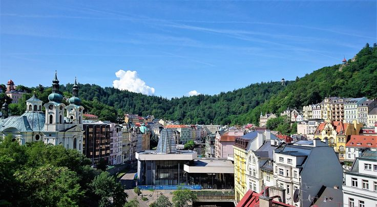 Karlovy Vary - wonderful spa-town and architectural injection.