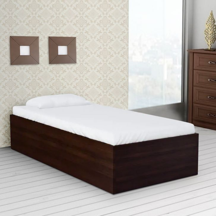 Single Bed Design In 2020 Bed Design Single Beds With Storage Wood Bed Design