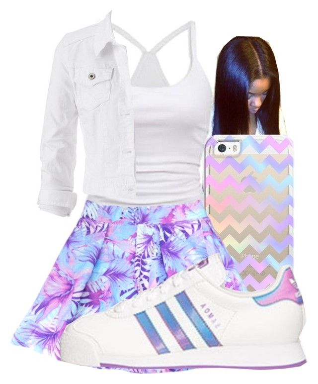 """""""Untitled #1314"""" by honey-cocaine1972 ❤ liked on Polyvore featuring American Eagle Outfitters, adidas and maurices"""