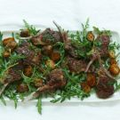 Try the Lamb Cutlets with Mint, Chili and Golden Potatoes Recipe on williams-sonoma.com