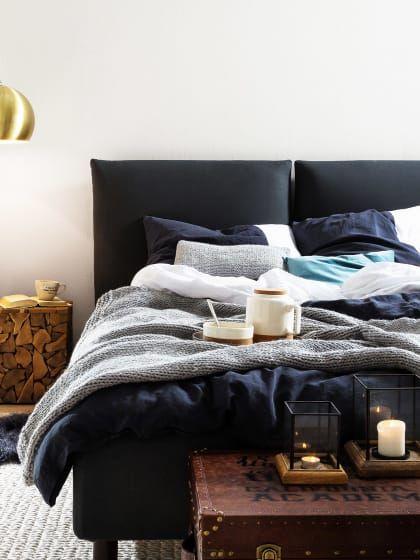 die 49 besten bilder zu stylight ♥ schlafzimmer auf pinterest ... - Wandfarbe Im Schlafzimmer Erholsam Schlafen