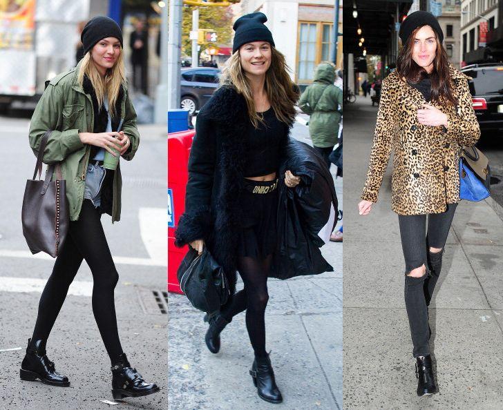 El streetstyle de las modelos antes del desfile de Victoria's Secret #VSFashionShow