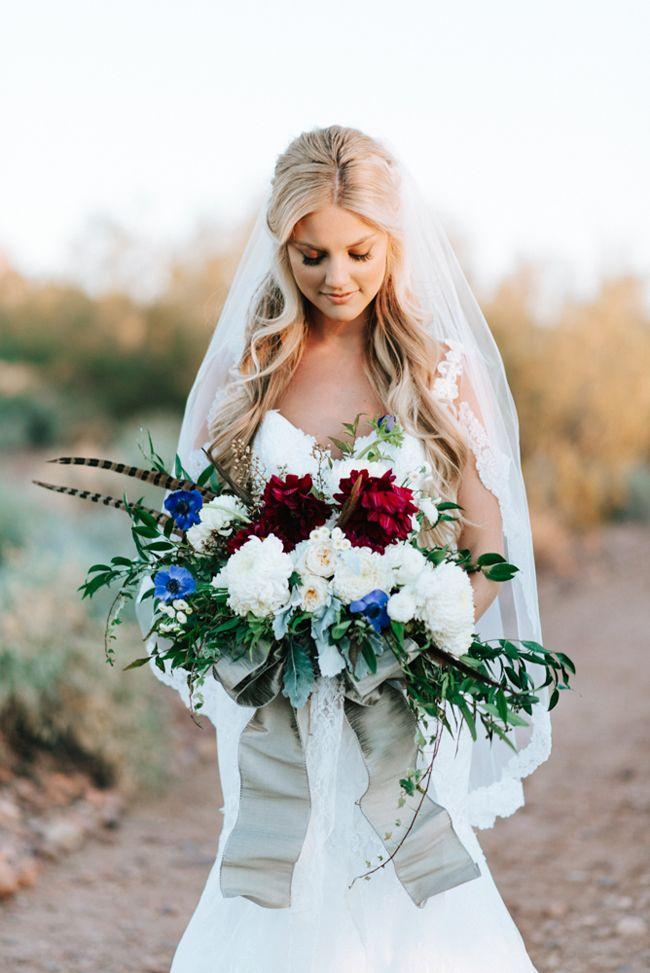 Chic Arizona Mountains Wedding Inspiration - Fab You Bliss