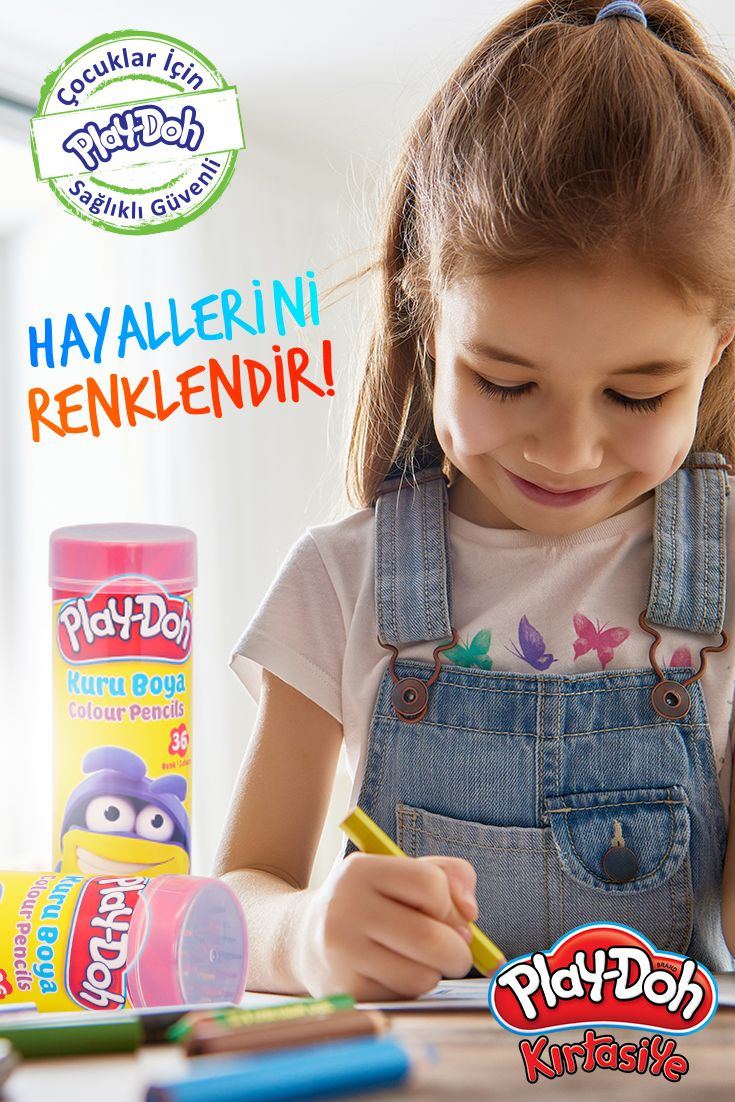 Play-Doh Kırtasiye ile hayallerini renklendir!  #playdohkirtasiye #playdoh #playdohstationery #stationery #kuruboya #colourpencils #playdohcolourpencils #colour #color #pencils #öğretmen #öğrenci #okul #okuladönüş #backtoschool #kids #çocuk #çocuklar
