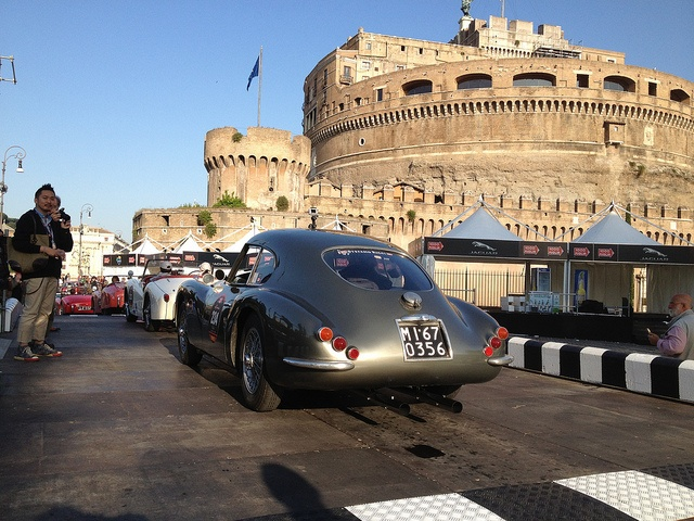Fiat 8V, Castel Sant'Angelo, Rome