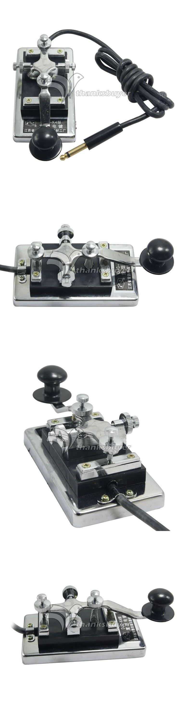 Code Keyers and Keys: Morse Code Trainer Shortwave Radio Telegraph Key Cw Radio K4 Key Chamber Props -> BUY IT NOW ONLY: $53.5 on eBay!