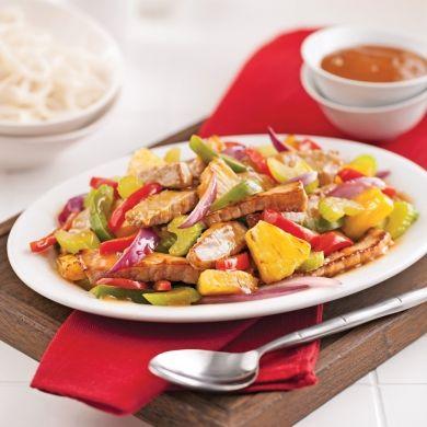 Porc aigre-doux à l'ananas - Recettes - Cuisine et nutrition - Pratico Pratique
