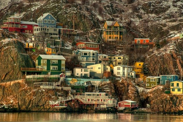 The Battery, St. John's, St. John's, Newfoundland and Labrador (St. John's Battery by Kurt Sampson, via Flickr)