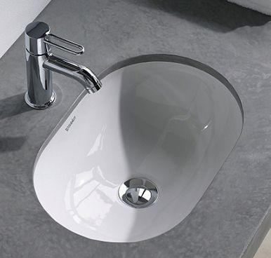 Duravit Foster Undercounter Basin Bathroom Basin Vanity Unit Bathroom Undercounter Sink