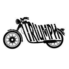 vintage triumph motorcycle logo - Google Search