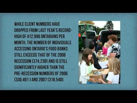 Throughout our network, food banks across the province are working hard to address emergency food needs and long-term food insecurity through a wide variety of innovative programs. From community gardens and skill-building workshops to on-site dental and public health services, Ontario's food banks have become centres for support, innovation, and community.