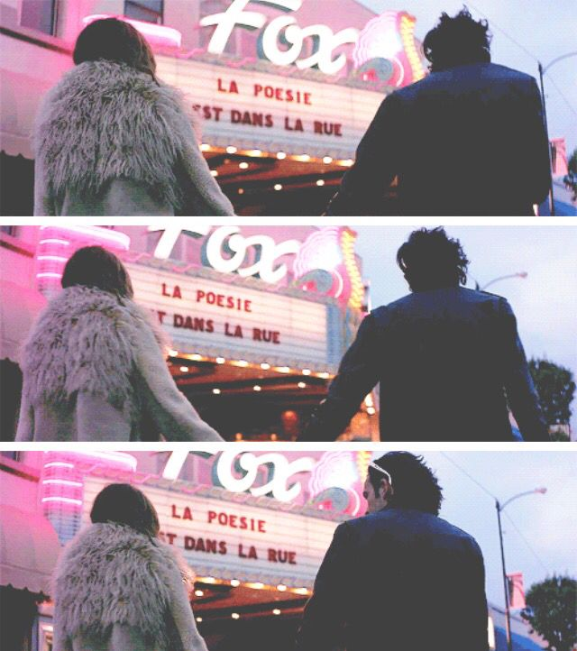 """I told her 'doing this video, we really need to fall in love with each-other' and we did. Nothing happened I just...fell in love with her a little bit."" - Matty talking about the music video for 'Robbers'"