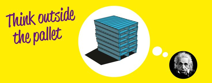 In NO time ontwerpen en bouwen met Pop Up Pallets. (PUP)