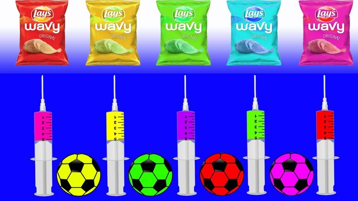 Learn Colors with Soccer Ball Injection Chip JOHNY JOHNY Yes Papa FINGER FAMILY Rhymes Song