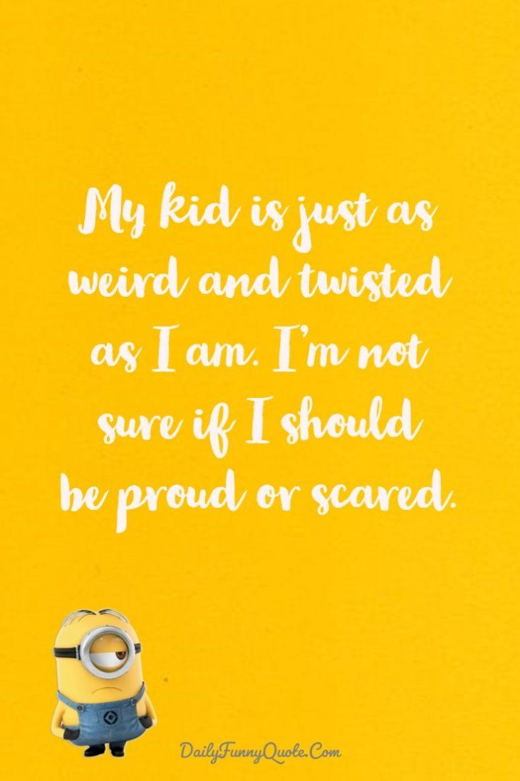 40 Funny Quotes Minions And Short Funny Words Crazy Stuff Quotes