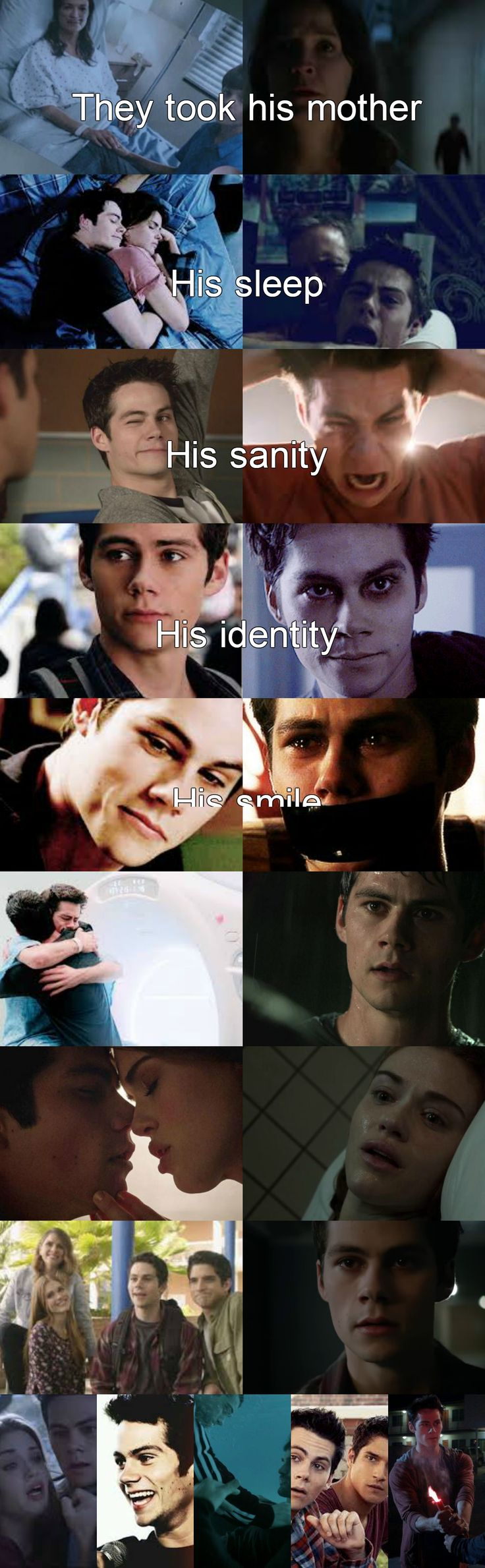 Teen wolf - what they took from stiles sad