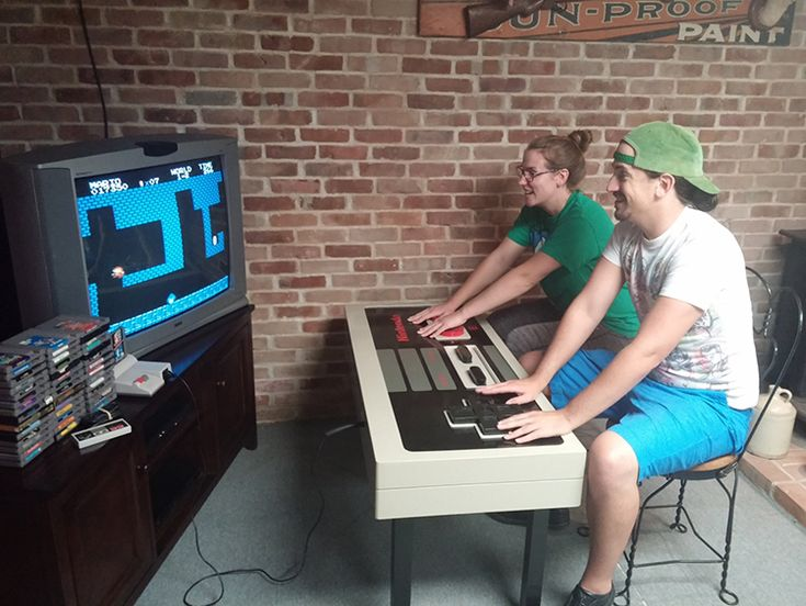 Logan Miller of MillerWoodshop has created an impressive and fully functioning NES game controller coffee table designed after the classic Nintendo Entertainment System controller from the 1980s. T...