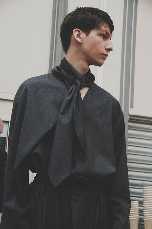 J.W. Anderson SS15 Mens collection, Dazed backstage