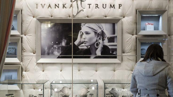 Vendas de marca da filha de Donald Trump disparam após eleição do pai